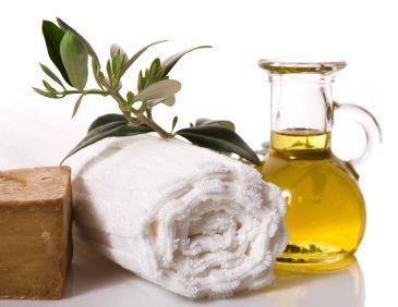 wellness. olive bath items