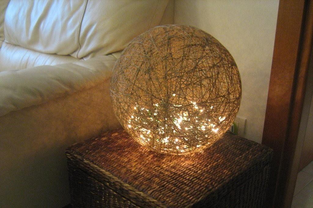 Crea una bellissima lampada con lo spago a costo zero - Costo costruire casa da zero ...