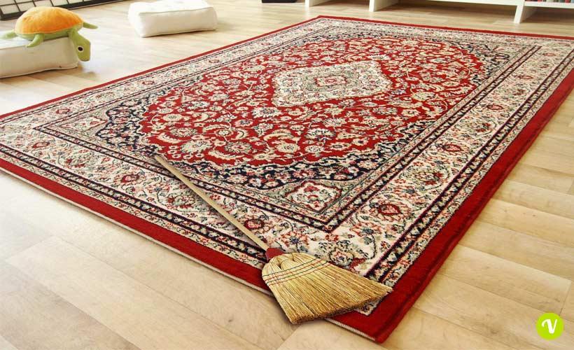 Come pulire un tappeto pregiato bastano due semplici - Tappeto viola leroy merlin ...