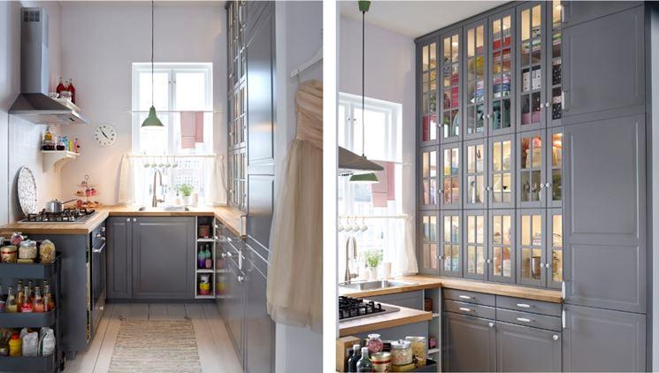 Tanti trucchi per ottimizzare lo spazio in cucina e farla sembrare ...