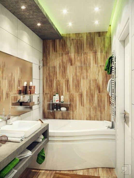 Idee per arredare un bagno piccolo 22
